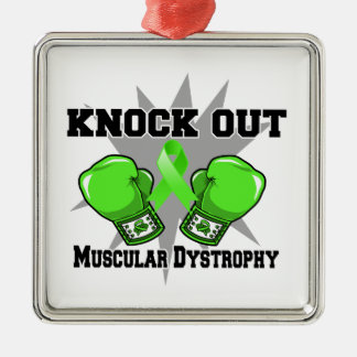 Knock Out Muscular Dystrophy Christmas Tree Ornaments