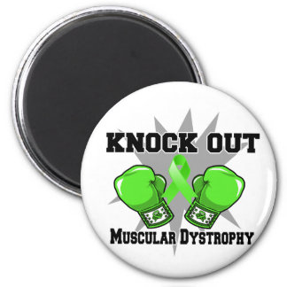 Knock Out Muscular Dystrophy Fridge Magnets