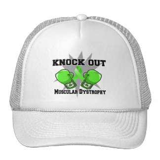 Knock Out Muscular Dystrophy Hats