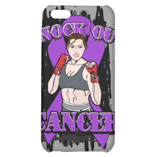 Knock Out Pancreatic Cancer iPhone 5C Covers