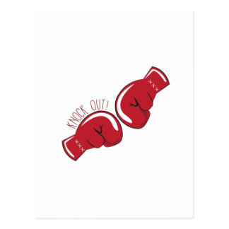 Knock Out Post Card