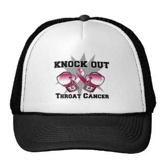 Knock Out Throat Cancer Hats