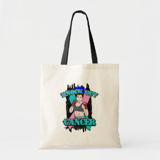 Knock Out Thyroid Cancer Canvas Bags