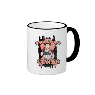 Knock Out Uterine Cancer Mugs