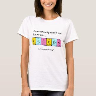 Knockers amazing science shirt