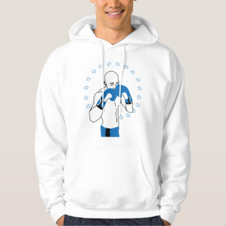 Knockout Hoodie (in Blue)