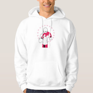 Knockout Hoodie (in Red)