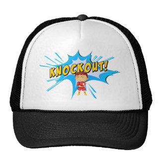 Knockout punch trucker hat