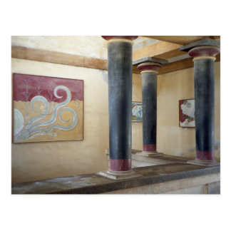 Knossos Temple Postcard