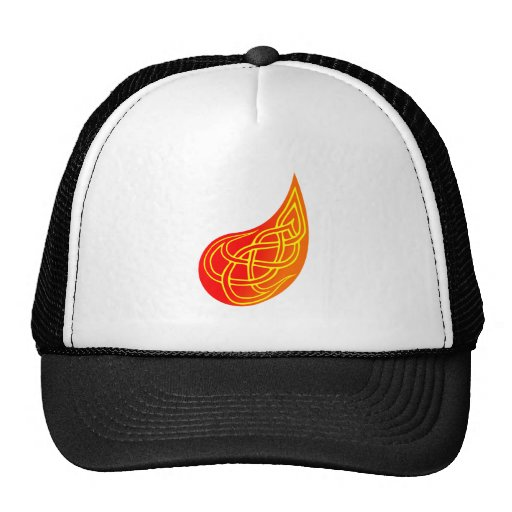 Knot Fleming flames knots Trucker Hat
