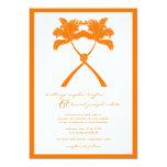 Knot Palm Trees Beach Tropical Wedding Modern Chic