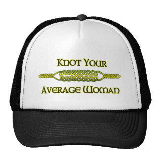 Knot Your Average Woman Cap