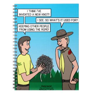 Knots Knots Notebook