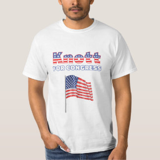 Knott for Congress Patriotic American Flag T-Shirt