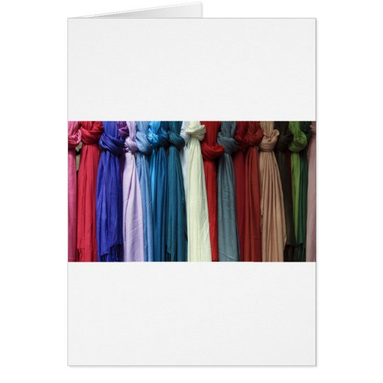 knotted scarves card