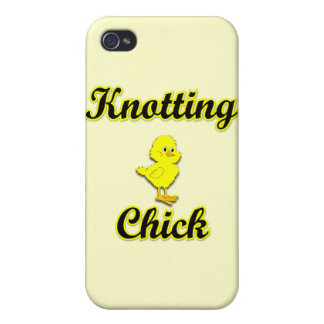 Knotting Chick iPhone 4/4S Covers