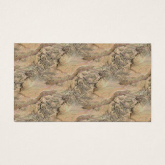 Knotty Bark Striped Texture Business Card
