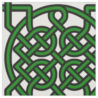 Knotty Kelly Green Fabric