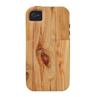 Knotty Light Wood Grain Floor iPhone 4 Covers
