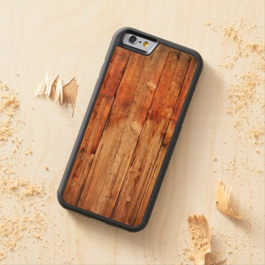 Knotty pine cherry iPhone 6 bumper case