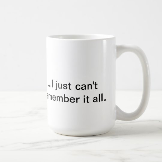 """Know It All"" Coffee Mug"