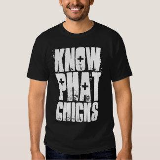 Know Phat Chicks T Shirt