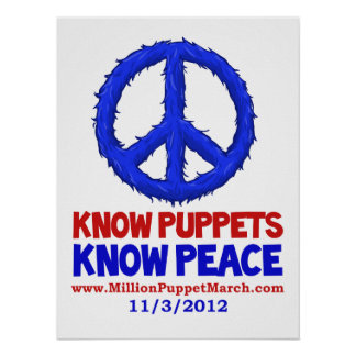 Know Puppets, Know Peace Posters