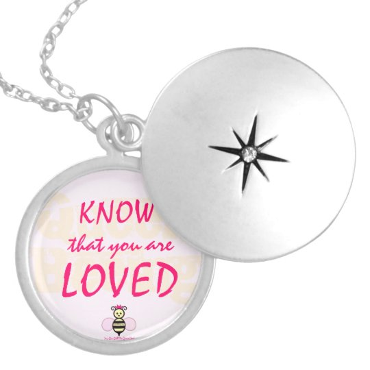 Know That You Are Loved Locket by QueenBeeing