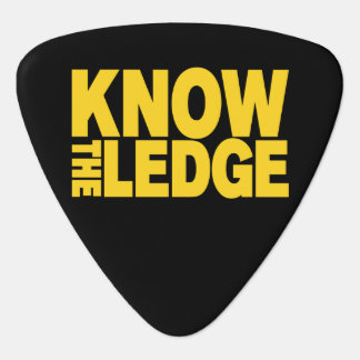 KNOW THE LEDGE PLECTRUM