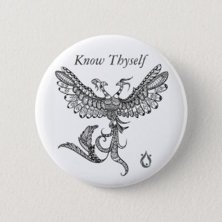 Know Thyself Phoenix Button
