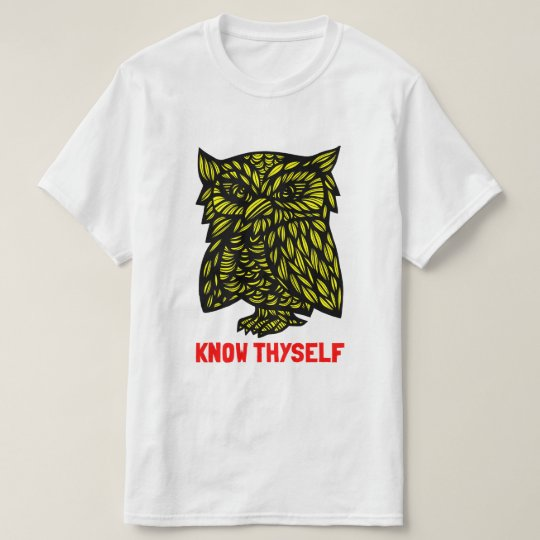 """Know Thyself"" Value T-Shirt"