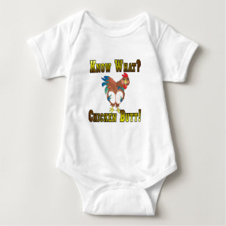 Know What?  Chicken Butt! Baby Bodysuit