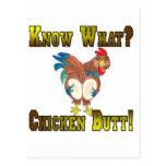 Know What?  Chicken Butt! Postcard