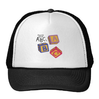 Know Your ABCs Cap