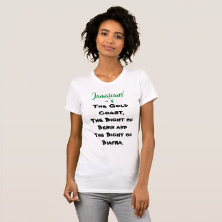 Know your history, Xaymaca-Jamaica Independence 18 T-Shirt