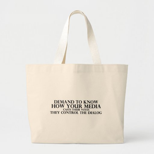 Know Your Media Canvas Bag