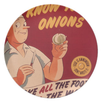 Know your onions plate