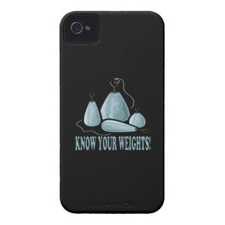 Know Your Weights iPhone 4 Case-Mate Cases