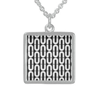 Knowing Easy Friendly Welcome Square Pendant Necklace
