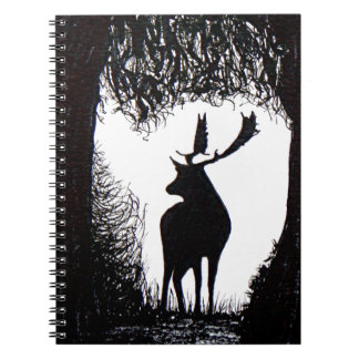 Knowle Park in Sevenoaks Hand Drawn Deer Notebooks