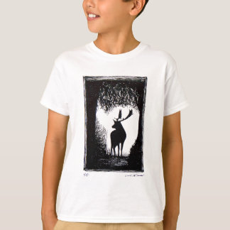 Knowle Park in Sevenoaks Hand Drawn Deer T Shirts