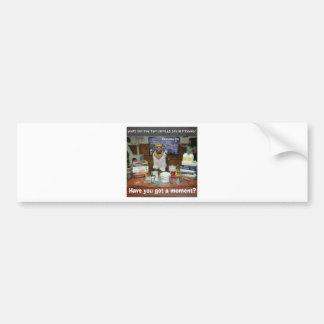 Knowledge Dog Dipole Moment Bumper Sticker