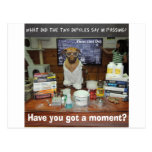Knowledge Dog Dipole Moment Postcards