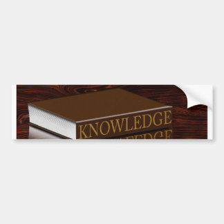 Knowledge is Key Bumper Stickers