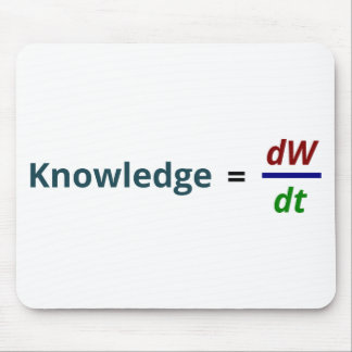 Knowledge is Power Mouse Pad