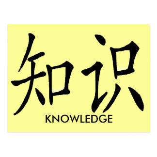 KNOWLEDGE POSTCARDS