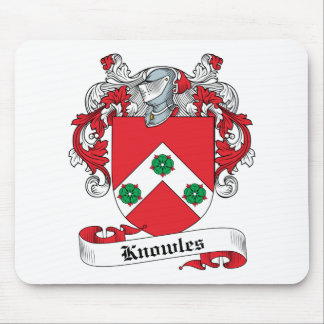 Knowles Family Crest Mouse Pad