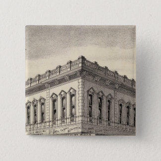 Knox block, San Jose 15 Cm Square Badge