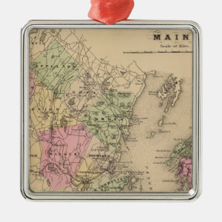 Knox County, Maine Christmas Ornament