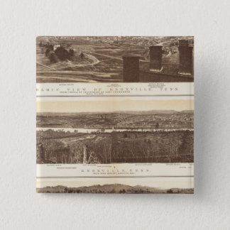 Knoxville, Chattanooga 15 Cm Square Badge